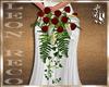 {L} Wedding Red  Bouquet