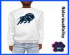 Bison Sweatshirt (White)