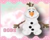 Snowman Plush Doll