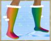 ~H~Flat Mesh Boots