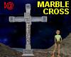 !@ Marble cross