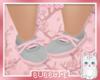 grey and pink daps