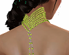 BC BEL NECK LIME PEARLS