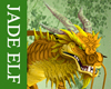 [JE] Gold Asian Dragon