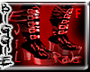 (Red Evil Raver Boots)
