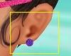 Kids Purple Earrings