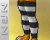 (ZaZ) Blk Stripe Legging