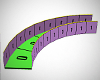 Walkway 90 Degree Curve