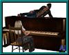 (A) C & W Piano w Poses