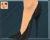 !F! Fur Stilettos Black