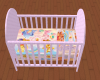 Pink Gucci Crib