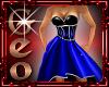 Geo Mep Gown Blue