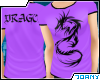 [Ty] Purple Dragon Tee