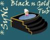 Sync Black and Gold Tub