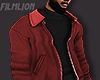 F' Faded Red JKT