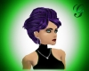 purple/black hair