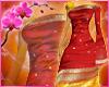 RC Indian Saree Red