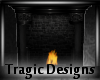 -A- Stone Fireplace