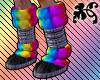 *T* Rainbow Moon Boots