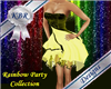 Party Dress - Yellow