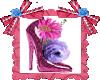 Zapatilla Rosa animada