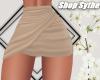 Sy   Wrap Skirt   Tan