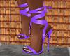 FG~ Tie Up Stiletto Purp