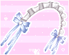 ♡ Blue Maid headband