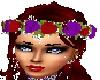 {BA69} red/purple wreath