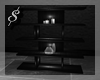 $ Modern black shelf