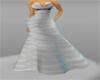 Gray/Silver gown xxl