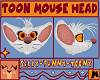 Toon Mouse Head [M]