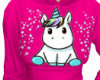 Unicorn Sweater Pink