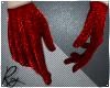 Ruby Glitter Gloves