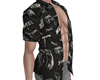 Mobster Open Shirt