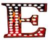 Flames Letter E