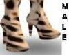 [W] Cheetah Boots male