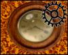 [66]Brass wall clock