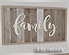 H. Family Wall Framed