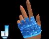 Luminus Blue Gloves