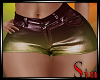 Metallic Shorts - Bronze