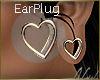 (FG) SilverHeart Earplug