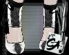 [x3]White~SteelGothToes