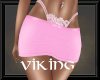 RLL Pink & Lace Skirt