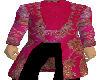 Hot Pink Brocade Tuxedo