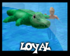 Jade Family Croc Float