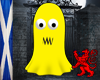 Yellow Ghost Avatar