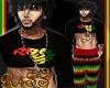 Rasta Nation Shirt M