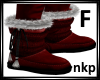 Red Winter Boots-F