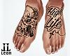 High Life Feet Tattoo